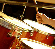 Music lessons for drummers and percussionists
