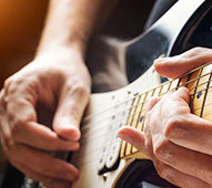 Music lessons for guitarists